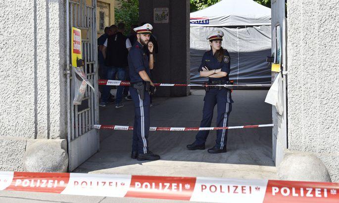 Die Leiche des Mädchens war in einem Mistkübel gefunden worden.