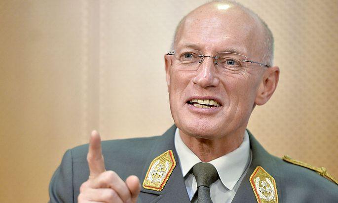 Generalstabschef Othmar Commenda