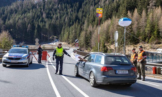 Quarantäne samt Einfahrtskontrollen in Tirol verlängert