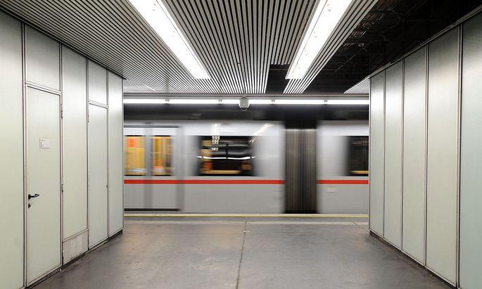 Wien U-Bahn Station