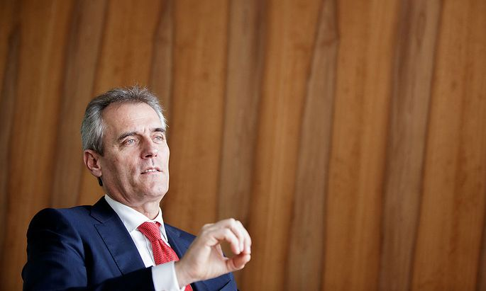 OMV AG Chief Executive Officer Rainer Seele Interview