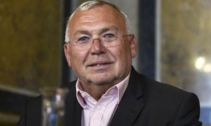 Alfred Gusenbauer.