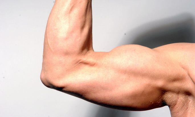 Eiweiß kann viel, aber nicht alles. Das ist also nur ein Symbolfoto, kein Bild von meinem Arm.