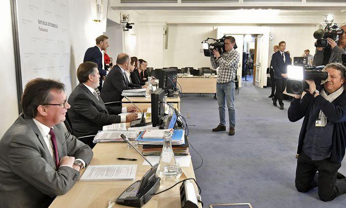 Norbert Darabos im U-Ausschuss.