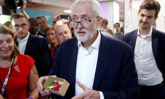 Parteichef Jeremy Corbyn.