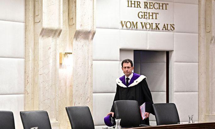 Der bisherige Vizepräsident, Christoph Grabenwarter, wird demnächst zum Präsidenten aufrücken.