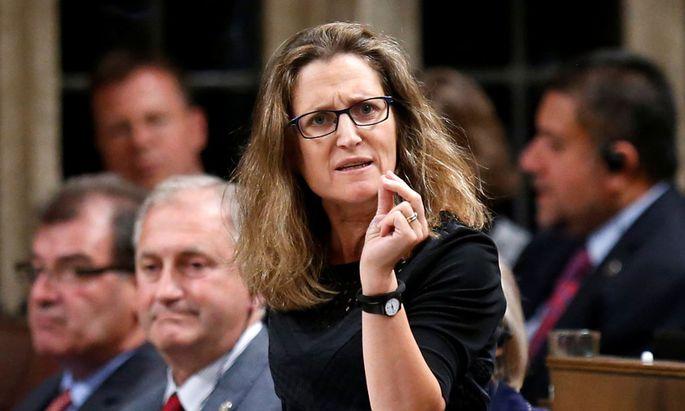 Die kanadische Handelsministerin Chrystia Freeland