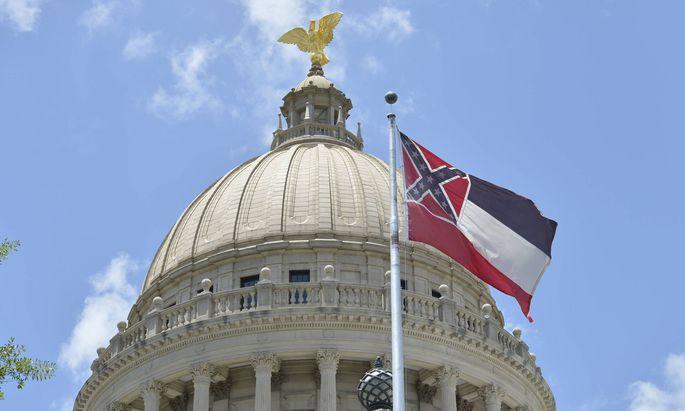 Mississippis Fahne erinnerte an die einstigen Sklavenhalter im amerikanischen Süden
