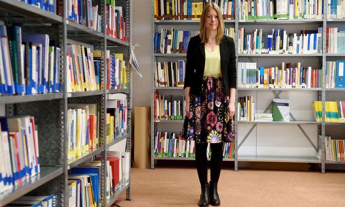 """""""Mich hat schon immer interessiert, was die Leute tun und warum"""", sagt Barbara Glinsner vom Zentrum für Soziale Innovation."""