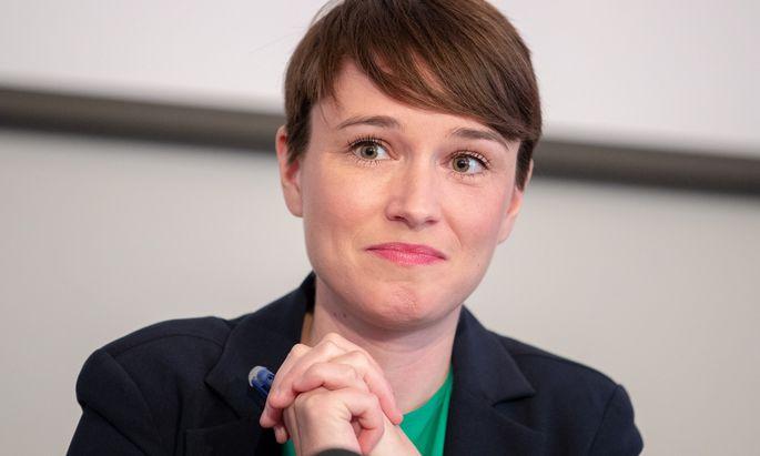 Sigrid Maurer, Chefin des grünen Parlamentsklubs.