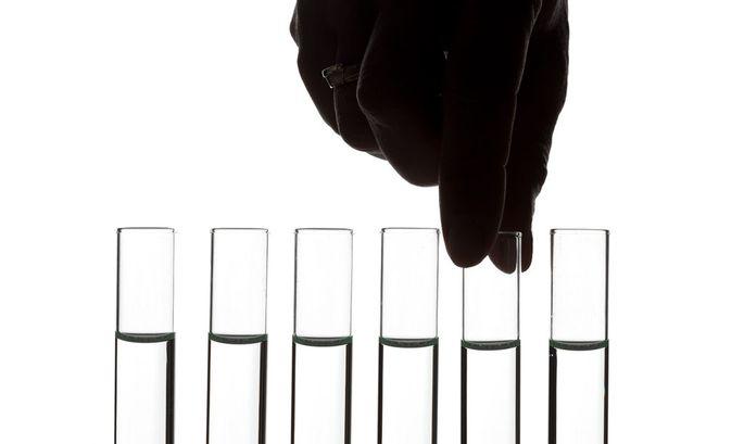 Reganzglas - Chemielabor