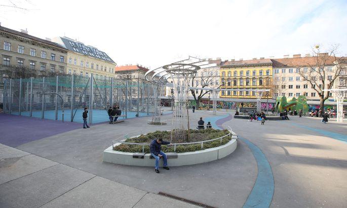 Rund um den Brunnenmarkt in Ottakring wurden viele Altbauten mit Bauherrenmodellen revitalisiert.