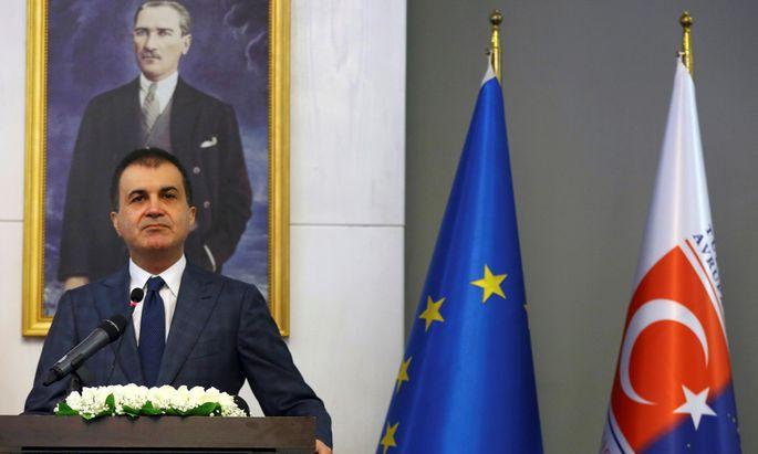 Der türkische Europaminister, Ömer ?elik, bezeichnet die Aussagen von Kanzler Kern als verstörend