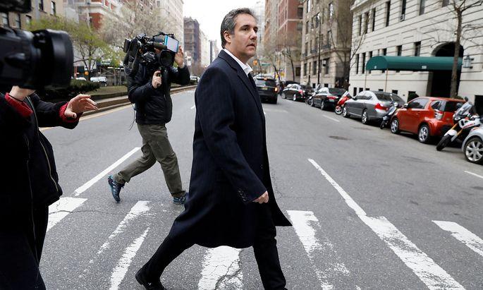 Archivbild von Trumps Anwalt Michael Cohen.