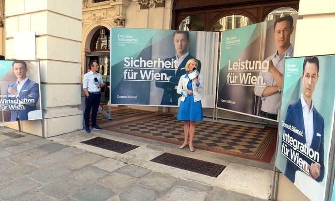 ÖVP-Parteimanagerin Bernadette Arnoldner.
