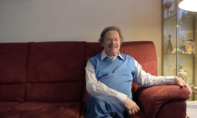 Der Komponist Iván Eröd (1936-2019).