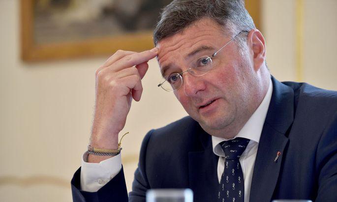 Der stellvertretende SPÖ-Klubchef Jörg Leichtfried