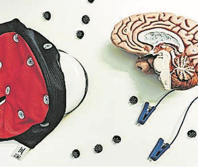 Die Elektroden für das Spiel sollen in eine Baseballkappe passen.