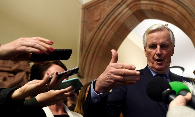 EU-Chefverhandler Michael Barnier schließt wegen der Differenzen in London ein Worst-Case-Szenario nicht aus.