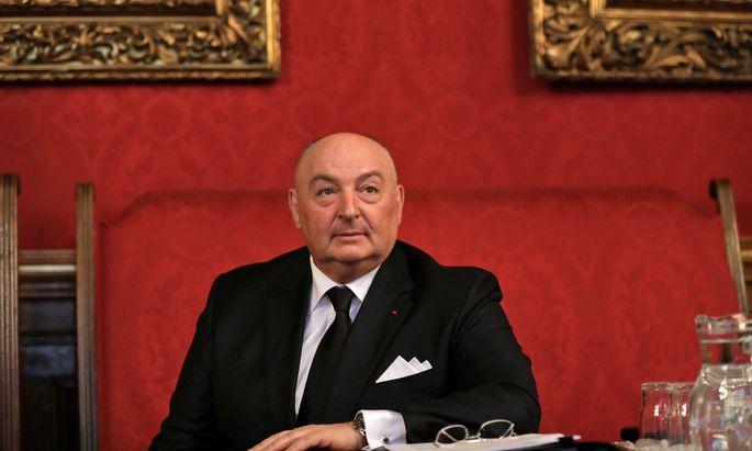 Wjatscheslaw Mosche Kantor kam zur Eröffnung der Antisemitismus-Konferenz nach Wien.