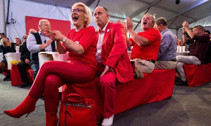 Die SPÖ muss eine Niederlage hinnehmen, minus 5 Prozent