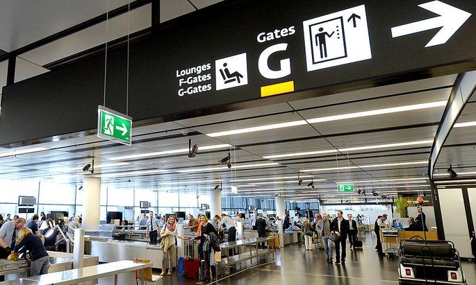 Flughafen Wien: Symbolbild
