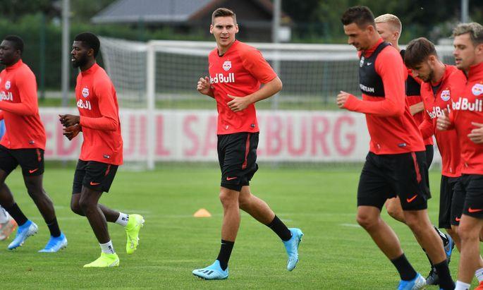FUSSBALL: RED BULL SALZBURG - WOeBER