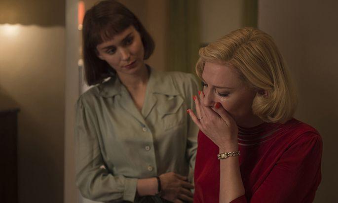 Zwei Frauen, die sich befreien: Cate Blanchett als Carol (r.), Rooney Mara als Therese.