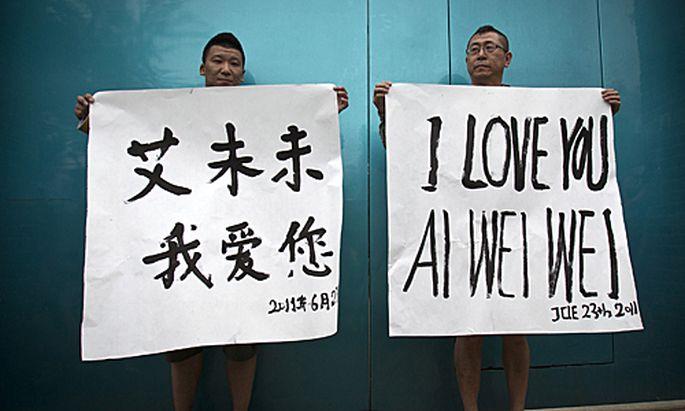 Ai Weiwei: Auch sein Cousin ist gegen Kaution frei