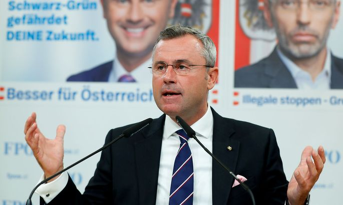 FPÖ-Chef Norbert Hofer