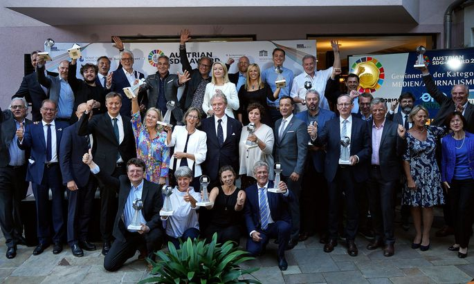 Der SDG-Award 2020 wurde am 2. September im Boutiquehotel Stadthalle verliehen.