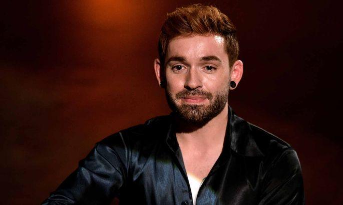 """Daniel Küblböck wurde 2002 als Teilnehmer von """"Deutschland sucht den Superstar"""" bekannt. Die Aufnahme stammt aus dieser Zeit."""