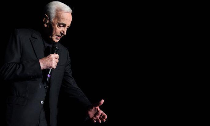 Charles Aznavour im Jahr 2011.