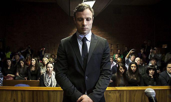Oscar Pistorius während des Prozesses