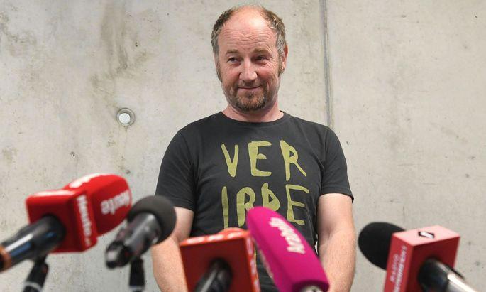GILT-Gründer Roland Düringer