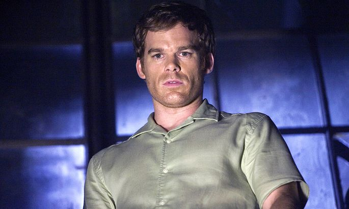 DEXTER MICHAEL C. HALL as Dexter Morgan Date: 2006. Strictly editorial use only in conjunction with the promotion of th