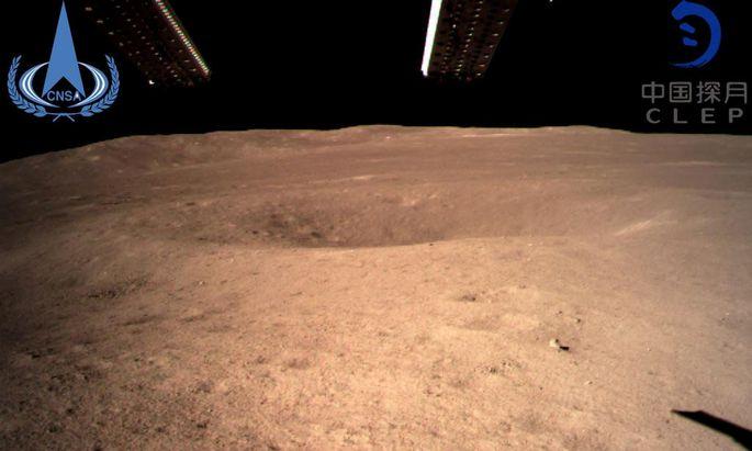 Aufnahme vom Mond