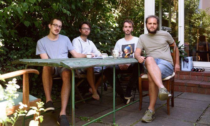 Die Elektronikkombo Drahthaus produziert ihre Musik in einem Haus im südlichen Favoriten.