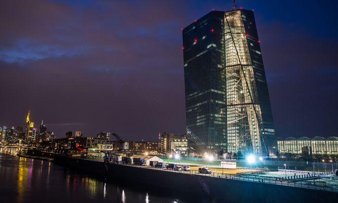 Sicherheitsma�nahmen rund um EZB