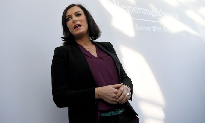 Landwirtschaftsministerin Elisabeth Köstinger.