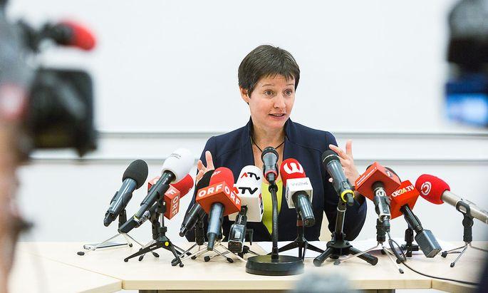 Sonja Wehsely im Jänner 2017