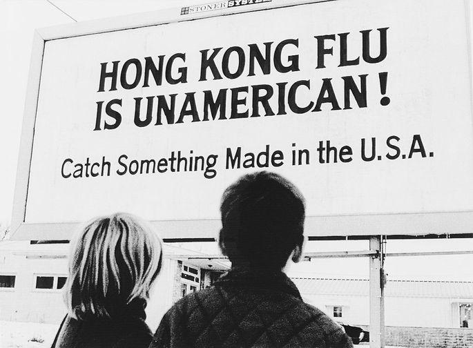 Die letzte große weltweite Pandemie: die Hongkong-Grippe, ausgebrochen im Jahr 1968.