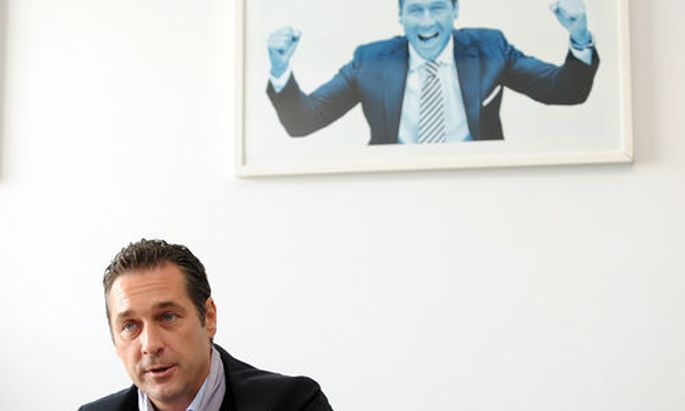 Heinz-Christian Strache, FP�Foto: Clemens Fabry