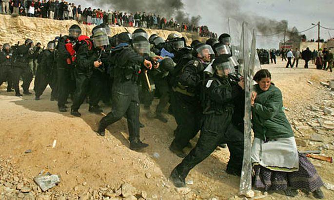 Siedlungsräumung im Westjordanland