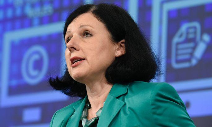 Justizkommissarin Jourová versprach Bürgern, Herren ihrer Daten zu werden.
