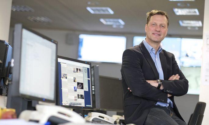 Digitalchef Mathias Müller von Blumencron