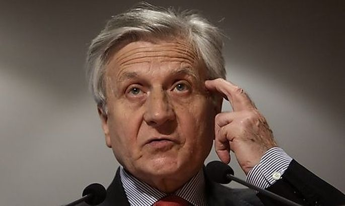 European Central Bank (ECB) President Trichet addresses a conference hosted by Austrian National Bank