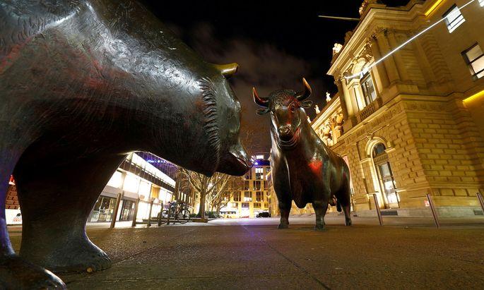 In Frankfurt wird am Montag die erste Börsenhülle seit zehn Jahren gehandelt.