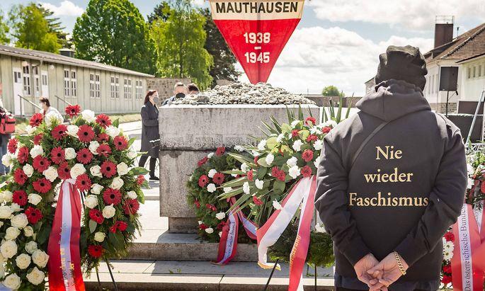 20210516 International Commemoration and Liberation Ceremony Concentration Camp Memorial Mauthausen VIENNA, AUSTRIA - MA