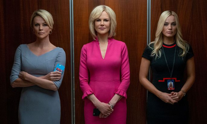 """Zu sagen haben die Frauen einander in """"Bombshell"""" nichts."""
